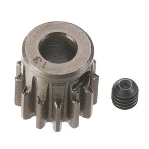 Robinson Racing Products 8713 Hard Bore 0.8 Module Pinion Gear, 13T, 5mm