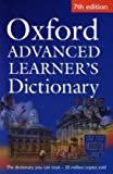 Oxford Advanced Learner's Dictionary 7th edition paperback