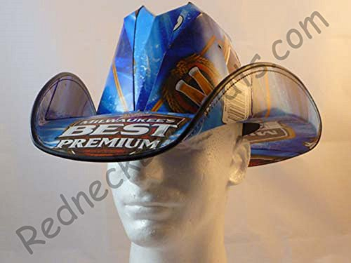 Beer Box Cowboy Hats Made From Recycled Milwauakees Best Beer Boxes Frat - Hat Cowboy Box Beer