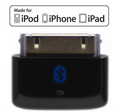 KOKKIA i10s (Black) : Tiny Bluetooth iPod Transmitter for iPod/iPhone/iPad. Works well with Apple AirPods. Plug and Play. (Ipod Nano Speaker System)