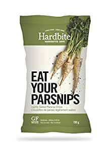 Hardbite Handcrafted-style Eat Your Parsnip Chips 5.2oz
