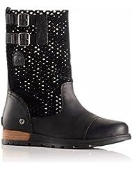 Sorel Major Pull On Boot - Womens (Black/Wet Sand, 7.5)