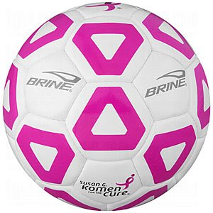 Brine 2011 Championship Soccer Ball - Size 5, Pink (Brine Championship Soccer Ball)