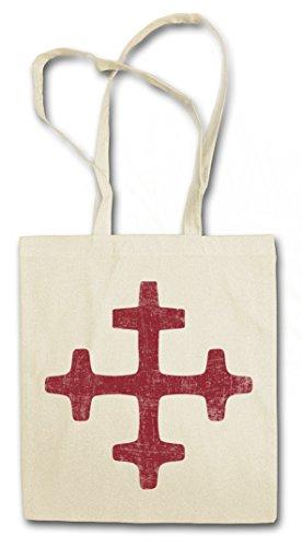 LATVIAN DIEVTURITY SYMBOL Hipster Shopping Cotton Bag Cestas Bolsos Bolsas de la compra reutilizables �?Dievtur?ba pueblo letón