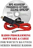 Wouxun KG-UV920P Two-Way Radio Programming Software & Cable Kit