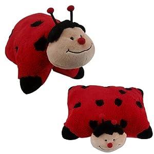 Large Animal Pillow : Ladybird Pillow Lady Bird Cuddle Pet Animal Pillow Plush Extra Large 46x40 cm: Amazon.co.uk ...
