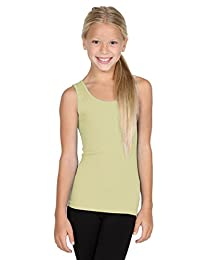 Sugarlips Girl's Ribbed Seamless Tank Top 409K - NUDE, ONESIZE