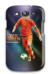 New Arjen Robben Tpu Case Cover, Anti-scratch ORAKigW13252IFgTI Phone Case For Galaxy S3