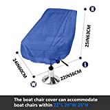 Boat Seat Cover Heavy Duty Oxford Fabric, Captain's