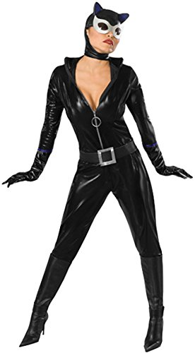 Secret Wishes Batman Sexy Catwoman Costume, Black, X-Small -