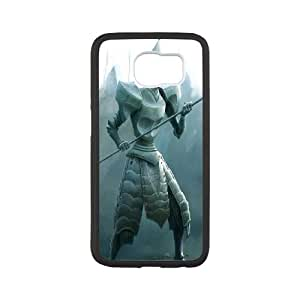 Samsung Galaxy S6 Cell Phone Case White Alice in Wonderland Character Alice HG7621592
