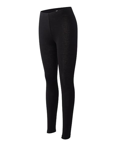 73b61c9b1ee75 Bella Ladies' 5.3 oz. Cotton/Spandex Jersey Legging - Black 812 2XL