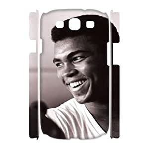 Muhammad Ali Cheap Custom 3D Cell Phone Case Cover for Samsung Galaxy S3 I9300, Muhammad Ali Galaxy S3 I9300 3D Case