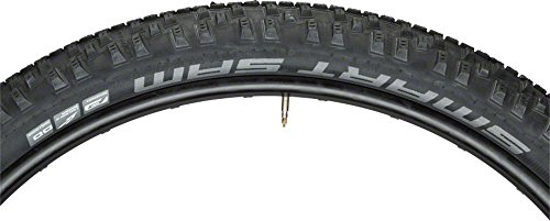 Schwalbe Smart Sam Tire: Folding Bead, 27.5x2.25, Addix, Double Defense, Black