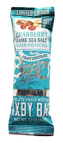 Bixby-Bar-Dark-Chocolate-Cranberry-Maine-Sea-Salt-Pistachio-Pecan-Toboggan-Bar-15-Ounce-Pack-of-12