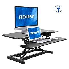 FlexiSpot Electric sit-stand riser blk