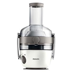 Philips HR1918/80 Centrifuga per Succhi di Frutta e Verdura, Tecnologia Fiberboost, Quickclean Plus per Pulizia Facile, 1000 Watt, Collezione Avance - 2020 -