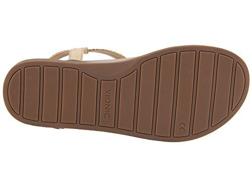 Vionic Palm Boca- Womens Sandal Gold Snake - 7 Medium
