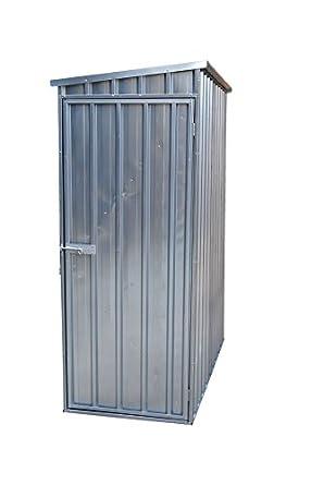 Vestil SHED 5932 Steel Storage Shed, Slant Roof, 59u0026quot; X 32u0026quot;