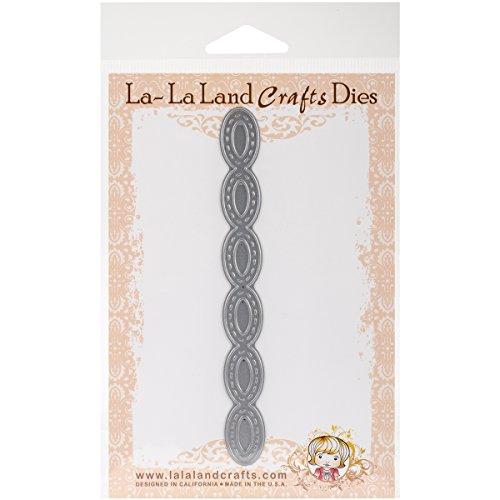 Stitched Brads (La-La Land Die-Stitched Ovals Border, .5