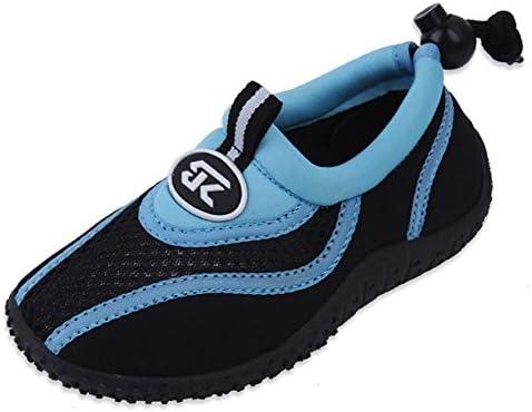 Cambridge Select Kids Quick Dry Mesh Drawstring Non-Slip Water Shoe Little Kid//Big Kid