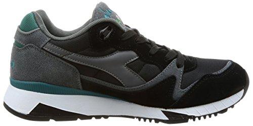 Steel Mesh Suede Spruce Nyl Black Shaded Diadora V7000 Uomo II Nero Gray Sneakers w1IpgqB