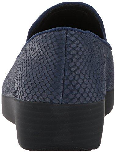 Mocasines Marino Superskate Fitflop Azul Mujer para Medianoche aXA005q
