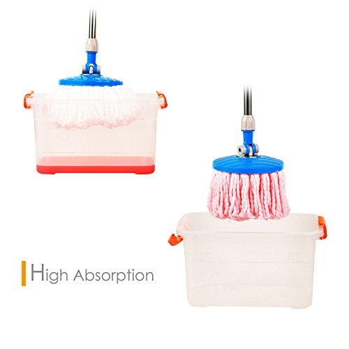 Accessories Microfiber Floor Mop Heads 6 Pack Refills