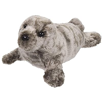 Douglas Miki Seal Plush Stuffed Animal: Toys & Games