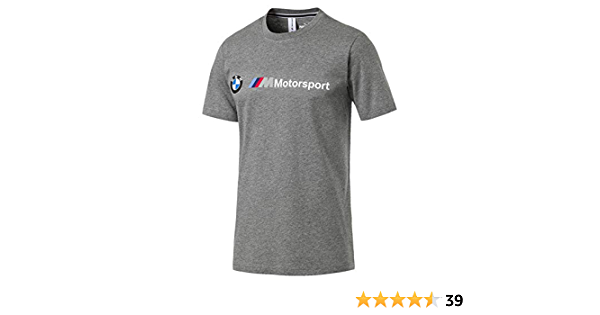 PUMA BMW Motorsport Logo tee Camiseta para Hombre