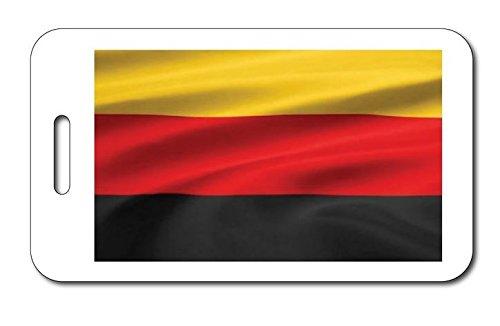German Flag Luggage Tag Size 2 inch x 3.5 inch VictoryStore Luggage Tag