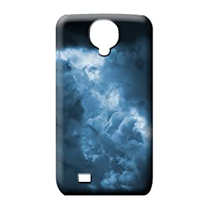 samsung galaxy s4 phone back shell Tpye Collectibles style sky blue air white cloud