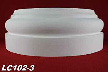 1 Basisteil für runde Säulen Halbsäulen Ø305mm LC102-3 Dekor stoßfest