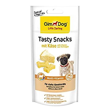 gimdog Tasty aperitivos Cheese + Multi de vitamina | 40 g Perros Snack: Amazon.es: Productos para mascotas
