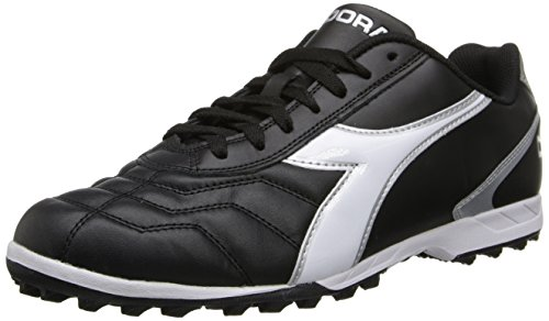 Image of Diadora Men's Capitano LT Turf-M, Black/White, 9 M US