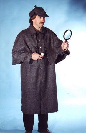 Adult Sherlock Holmes Costume