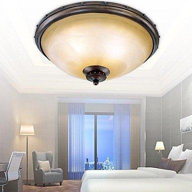 Lámpara de techo, 3 luces, diseño de acero inoxidable para ...