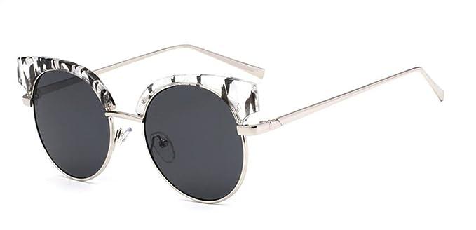 DZW Occhiali da vista di moda per signore ultra-light Yurt riflettente, 4
