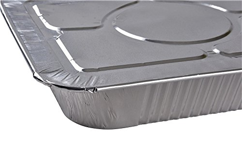 Mr. Miracle Half Size Foil Steam Lids - 30 Count by Mr Miracle (Image #2)