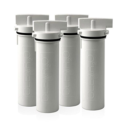 Clear2O Replacement Water Pitcher Filter Pack of 4 - Clear2o Water