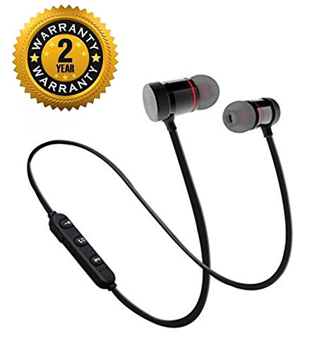 LIMTAS Wireless B11 Bluetooth Headset 360 Degree Surround Sound Support Soft Silicon Earbud Support for All Smartphone