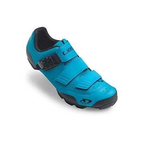 Giro Privateer R Shoes & E-Tip Glove Bundle Blue Jewel msh4BTzKP2