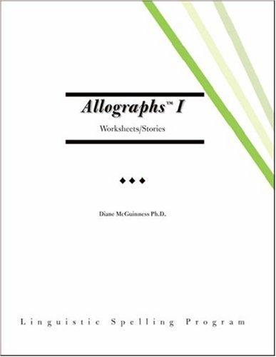Amazon.com: Allographs™ I Worksheets/Stories: Linguistic ...