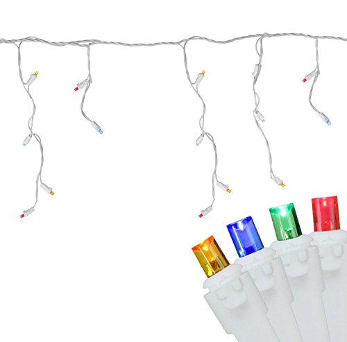 Led Icicle Christmas Lights Multi Color