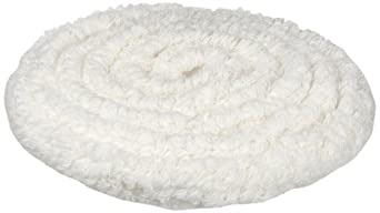 Rubbermaid Commercial FGP11900WH00 19-Inch Standard Thickness Bonnet, White (Pack of 5)