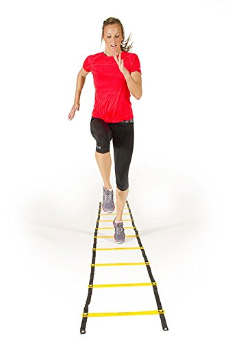 SS Sports Quick Flat Rung Agility Ladder with Free SS Carry Bag