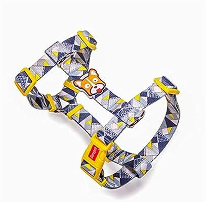 ACHONGW Collares para Perros Diseñador de Moda Imprimir Arnés para ...