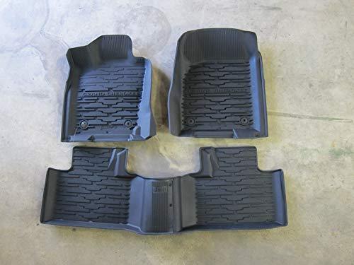 Mopar 2016-2019 Jeep Grand Cherokee Rubber Slush Mats Floor Mats Front & Rear