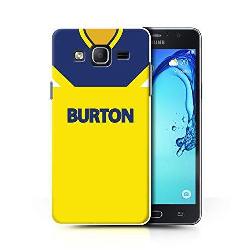 Phone Case/Cover for Samsung Galaxy On5/G550 / Leeds 1986 Away Design/Retro Soccer Jersey/Shirt Division 2 Collection