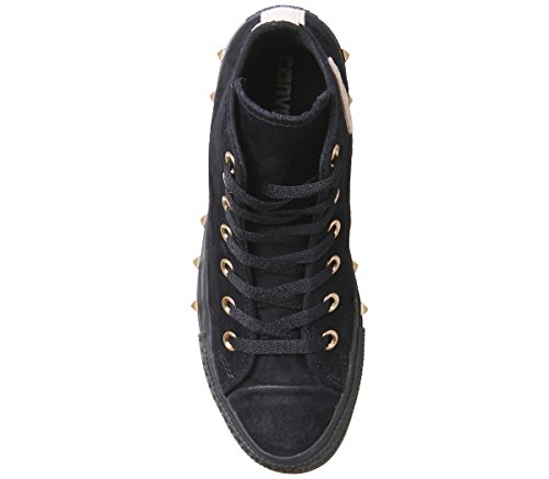Blush Taylor Converse Hi Chuck Stud Beige All Black Zapatillas Unisex Star Particle 6qqTwRxf